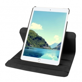 360º Standaard Bescherm Hoes Map voor iPad Mini 5 - 2019  Zwart.