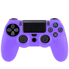 Silicone Hoes / Skin voor Playstation 4 PS4 Controller    Paars