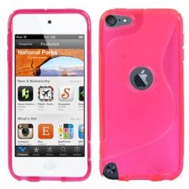 TPU Flex Bescherm-Hoes Skin Hoesje voor iPod Touch 5G 6G  Roze