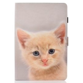 Cute Cat  - Bescherm-Etui Map voor iPad 10.2 - iPad Air 10.5