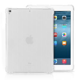 iPad 9.7 - TPU Flex Bescherm- Hoes Cover Skin - Transparant  A1893