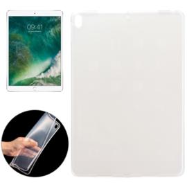 iPad Pro 10.5 - 2017 - TPU Flex Bescherm- Hoes Cover Skin - Transparant