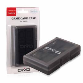 Opberg-Box Doos voor 24 Nintendo Switch - Lite  Spellen    Zwart