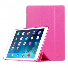 Slim Bescherm-Hoes Etui met Smart Cover voor iPad Mini 1 - 2 - 3   Roze