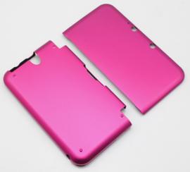 Aluminium Bescherm-Cover Skin voor Nintendo 3DS    Magenta