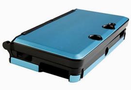 Aluminium Bescherm-Cover Skin voor Nintendo 3DS    Lichtblauw