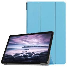 Samsung Galaxy Tab A 10.5 -  Bescherm-Hoes Map met Smart Cover - Blauw