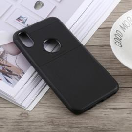 Ultra Thin Bescherm-Hoes Skin  voor iPhone XR -  Zwart