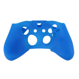 Silicone Hoes / Skin voor XBOX ONE S Controller  Blauw