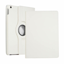 360º Standaard Hoes Map voor iPad 10.2 - iPad Air  10.5  - Wit -  A2197  A2152
