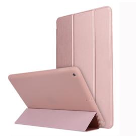 TPU Bescherm-Cover Hoes Map voor iPad 10.2  - Roze   -   A2197 - A2198