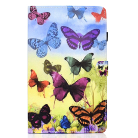 Vlinders  - Bescherm-Etui Map voor iPad 10.2 - iPad Air 10.5