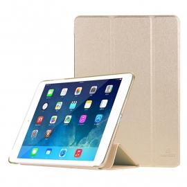 Slim Bescherm-Hoes Etui met Smart Cover voor iPad Mini 1 - 2 - 3  Goud