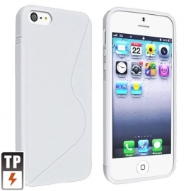 TPU Silicone Bescherm-Hoes Skin Sleeve S voor iPhone SE
