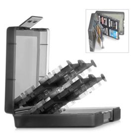 Opberg-Box voor 16 Nintendo 3DS / DS Lite / Dsi Spellen  ZWART