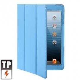 Bescherm-Opberg Hoes Etui Map Apple iPad Mini 1 - 2 - 3 Lichtblauw