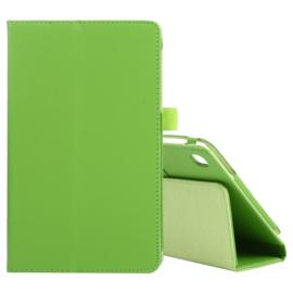 PU Kunstleer-Map Hoes voor Samsung Galaxy Tab A7 Lite  8.7   Groen