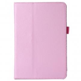 PU Bescherm-Opberg Hoes Etui voor iPad Mini 4   Roze