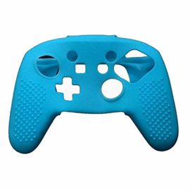 Silicone Hoes / Skin voor Switch Pro Controller  Blauw