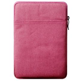 Bescherm-Opberg Hoes Etui Pouch Sleeve voor iPad 9.7 -  10.2  Zwart