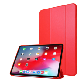 TPU Bescherm-Cover Hoes Map voor iPad Pro 11   -  Rood   A2228