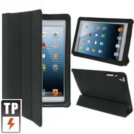 Microfiber Bescherm-Opberg Etui Hoes voor iPad Mini Zwart