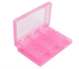 Opberg-Box voor 24 Nintendo 3DS - Dsi - DS Lite Game-Cards. Roze