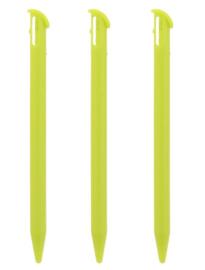 3x Stylus pen voor Nintendo New 3DS XL  Groen. NL