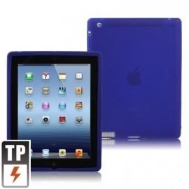 Silicone Bescherm-Hoes Skin voor Apple iPad 2 - 3 - 4 Blauw