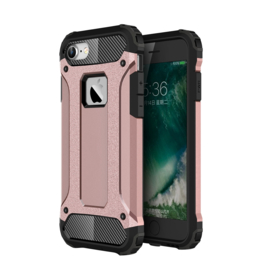 iPhone 7 of 8 - Hybrid Tough Armor-Case Bescherm-Cover Hoes - Roze