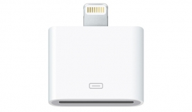 Lightning to 30 pins adapter voor iPhone 5 en iPad