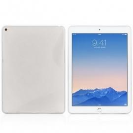 TPU Flex Bescherm-Cover Skin voor iPad Air  2 S-Line  Transparant