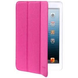 Belk Bescherm-Cover Hoes Etui met Smart Cover voor iPad Mini Magenta