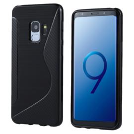 Samsung Galaxy S9 - S-Line TPU Bescherm-Hoes Skin - Zwart