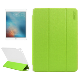 iPad 9.7 PRO - Enkay Slim Bescherm-Hoes Etui met Smart Cover - Groen