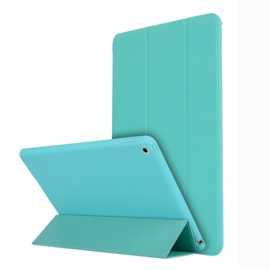 TPU Bescherm-Cover Hoes Map voor iPad 10.2  - Turquoise -  A2197   A2198