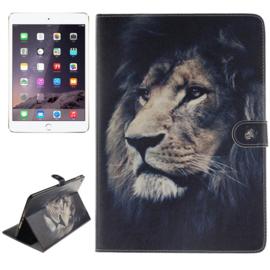 Luxe Bescherm-Etui Hoes voor iPad Air 2  Leeuw