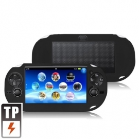 Silicone Beschermhoes voor Playstation - PS Vita Zwart