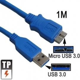 USB 3.0 - Micro USB 3.0 B Kabel 1 meter