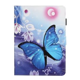 Vlinder - Bescherm-Etui Map voor iPad 10.2 - iPad Air 10.5