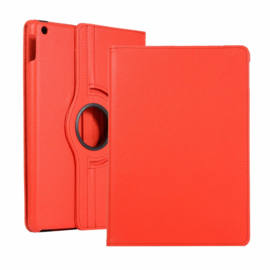 360º Standaard Hoes Map voor iPad 10.2 - iPad Air  10.5  - Rood -  A2197  A2152