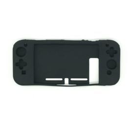 Silicone Bescherm Hoes Skin  voor Nintendo Switch - Zwart