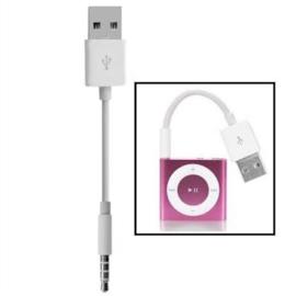 USB Oplader Kabel voor iPod Shuffle 3 en 4