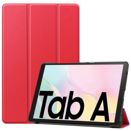 Bescherm-Cover Hoes Map voor Samsung Galaxy Tab A7 10.4  Rood T500
