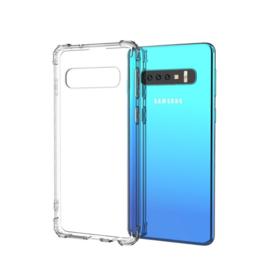 Samsung Galaxy S10 -  TPU Bescherm-Hoes Skin - Transparant
