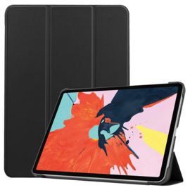 Slim Bescherm-Cover Hoes Map voor iPad Air - 10.9 -  Zwart
