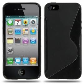 TPU Flex Bescherm-Hoes Skin voor iPhone SE  Zwart