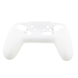 Silicone Hoes / Skin voor Nintendo Switch Pro Controller   Transparant