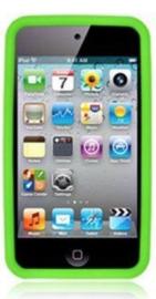 Silicone Bescherm-Hoes voor iPod Touch 4 4G  Groen