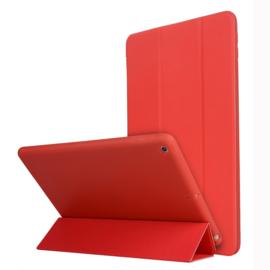 TPU Bescherm-Cover Hoes Map voor iPad 10.2  - Rood   -   A2197 - A2198